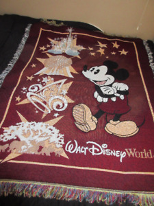 Mickey Mouse Throw blanket afghan
