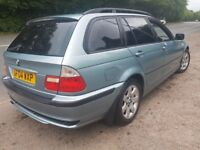 2004 BMW 320 E46 ESTATE IDEAL FAMILY CLEAN CAR THROUGH OUT MOT UNTIL MAY 2018