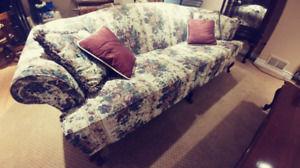French Provincial Love Seat, Couch, and Coffee table