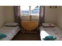 Lovely Large Twin room available for short lets - upto 2 months available from 5th sept