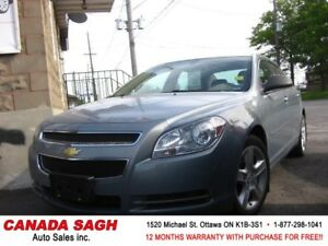 2009 Chevrolet Malibu GREAT DEAL92km , 12M.WRTY+SAFETY $6990