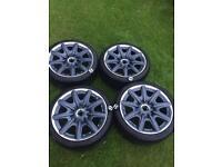 """Bentley wheels with 8 tyres 19"""" 5x112 9j et41"""