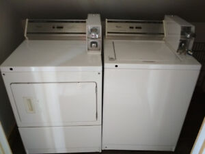 coin op wahser/dryers for sale
