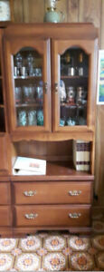 Vilas Glass Door China Cabinet