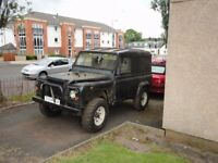 Ex MOD Land Rover 90 Defender 300 Tdi Automatic project