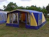 6 birth canvas pole tent