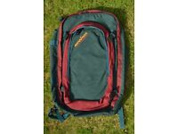 Karrimor Traveller's Back Pack with detachable Day Pack