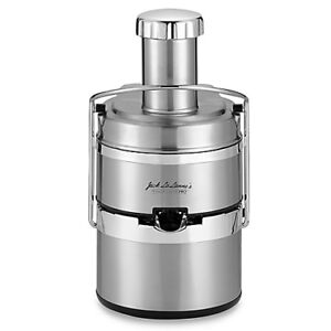 Juicer: Jack LaLanne Power Juice Pro , stainless steel cover