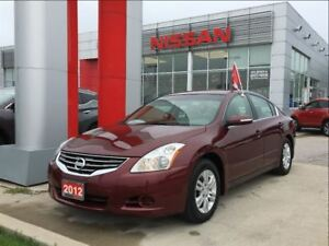 2012 Nissan Altima 2.5 SL, BOSE, Bluetooth, Leahter