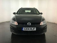 2014 VOLKSWAGEN GOLF SE TDI ESTATE 1 OWNER SERVICE HISTORY FINANCE PX WELCOME