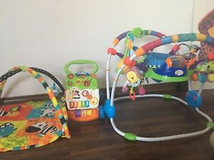 Baby toys and jumper