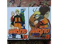 Naruto volumes 28 & 29