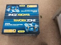 Work zone Electric Tile Cutter model 50705