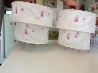 Girls Fairy Pink Lampshades x 2