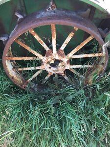 John Deere AR Steel Wheels