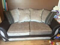 4 seater sofa and 2 seater sofa bed