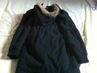 Black school coat