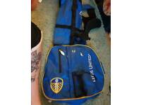 Brand new Leeds United golf pencil bag