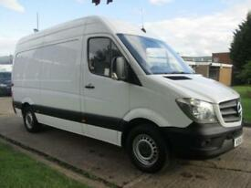 2014 14 MERCEDES-BENZ SPRINTER 2.1 313CDI MWB HIGH ROOF 129 BHP. 1 OWNER. ONLY 7