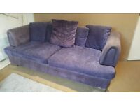 Beautiful Purple Sofa - for those with style :-)