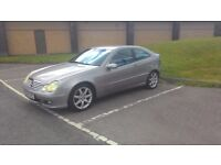 54 Reg Mercedes C200 CDI Coupe - Full two tone leather interior