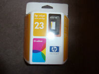 Original HP 23 Tri Colour - Ink Cartridge C1823D
