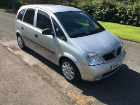 55 reg VAUXHALL MERIVA 83k drives nice cheap car