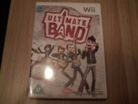 Wii Ultimate Band... brand new game