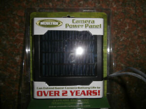 Moultrie Camera Power Panel MFH-CPP. Solar,12V. New in Box.