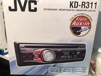For Sale: Jvc car cd player/Aux plug