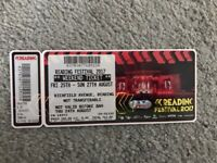 READING FESTIVAL WEEKEND TICKET ON SALE IN READING!!! Don't miss out!!