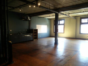 1300 sqft office in the Mercer Warehouse!