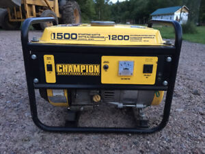 Champion Generator for Sale (Like NEW)