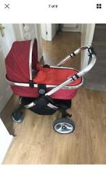 i candy Pushchair with Buggy Board