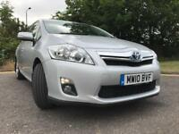 TOYOTA AURIS HYBRID AUTOMATIC WITH ONLY 33K MILLAGE FULL TOYOTA SERVICE HISTORY