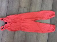 """GAP"" girls play suit. Pink pattern. 100% cotton. Age 5."