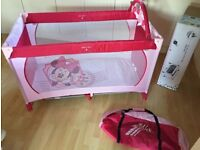 Extra large travel cot Disney baby dream