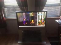 42 inch Panasonic HD ready tv with built in freeview