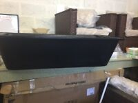 FAITHFULL BLACK PLASTERERS BATH 4FT X 2FT X 1FT