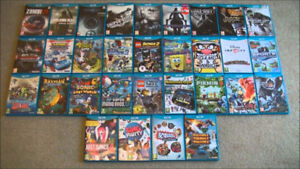 WII U GAMES FOR SALE GREAT PRICES