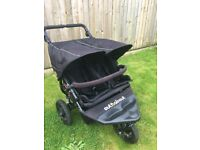 Out n about v4 nipper double pushchair