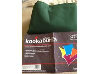 Kookaburra 5m x 4m Rectangle Green Party shade sail water resistant
