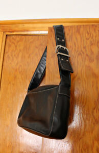 Black Genuine Leather Purse from Danier