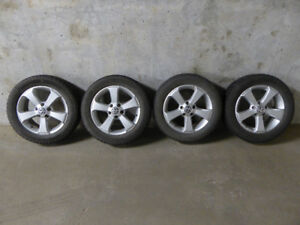 VW Alloy Rims and Winter Tires Combo!