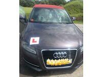 Audi A3 2012 plate