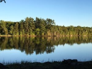 Beautiful Waterfront lot on Calpin Lake! Bring your boat!
