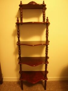 curio display stand, 5 tier