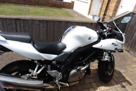 Suzuki SV650s - White/Blue, service history, excellent condition - £3250