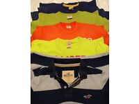 4 Hollister T-Shirts & 1 Superdry