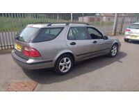 saab 9-5 arc estate 2.0 turbo automatic petrol 2004 04 plate